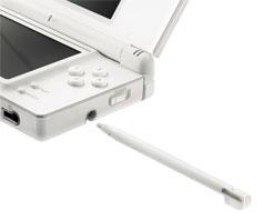 Stylet qui rentre dans une DS