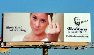 10 Ring Finger robbinsdiamonds.com billboard